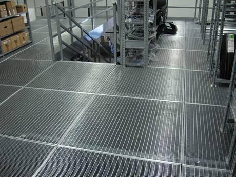 Platform Steel Grating Safe Efficient Amp Durable In Industry