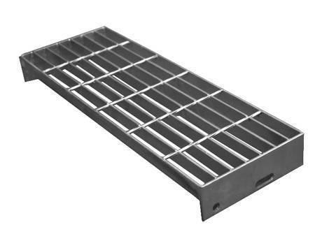 焊接楼梯踏板钢格板,没有突缘。