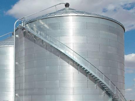 Tank Stair Amp Platform Steel Grating For Oil Gas