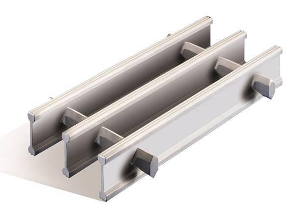 Aluminum Swage-Locked Grating for Stair, Floor, Walkway, Fence, Ceiling
